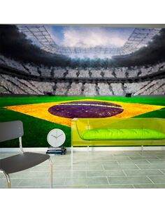 Papier Peint Brazilian Stadium  Sport Artgeist
