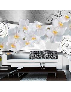 Papier Peint Flower Bridge  Orchidées Artgeist