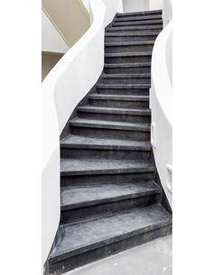 Papier-peint pour porte Photo wallpaper – Stairs I  Papier-peints pour porte Artgeist