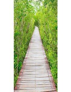 Papier-peint pour porte The Path of Nature  Papier-peints pour porte Artgeist