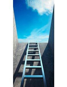 Papier-peint pour porte Photo wallpaper Ladder to heaven I  Papier-peints pour porte Artgeist