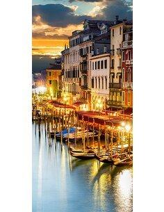 Papier-peint pour porte Venetian Harbour  Papier-peints pour porte Artgeist