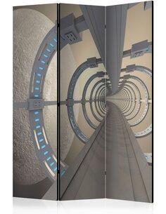 Paravent 3 volets Cosmic Tunnel  Paravents 3 volets Artgeist