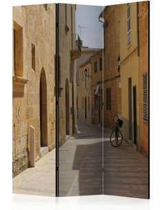Paravent 3 volets Summer in Mallorca  Paravents 3 volets Artgeist