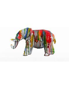 Sculpture Elephant 120 Multi Sculptures Arte Espina