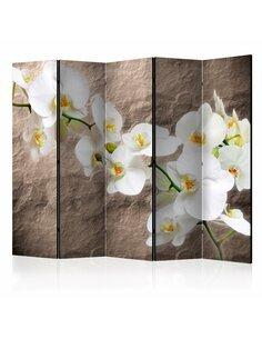 Paravent 5 volets Impeccability of the Orchid II  Paravents 5 volets Artgeist