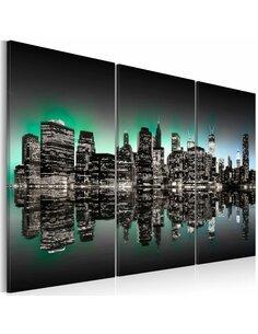 Tableau Triptyque - Lumières de New York